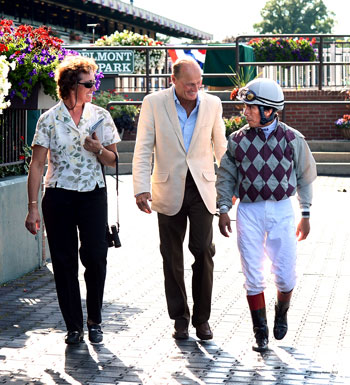 Barclay Tagg, Robein Smullen and Edgar Prado